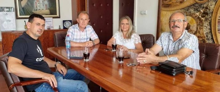 Директорката на ЈП за пасишта Виолета Илиевска во посета на општина Свети Николе