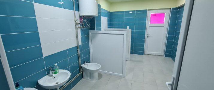 Завршена е реконструкцијата на тоалетите во Детска градинка Рахилка Гонева – Клон 2