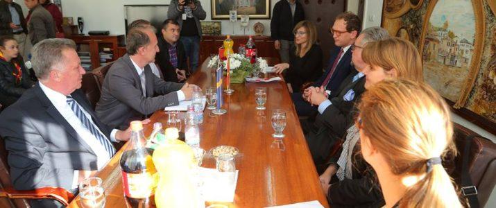 Амбасадорот на Кралството Шведска во посета на Општина Свети Николе
