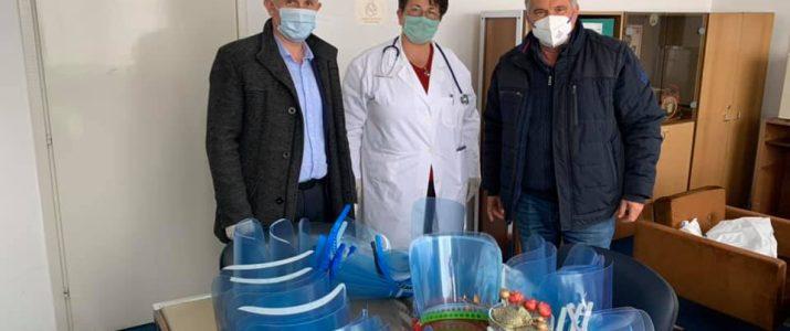 Донација од 3Д принт за Медицински Персонал
