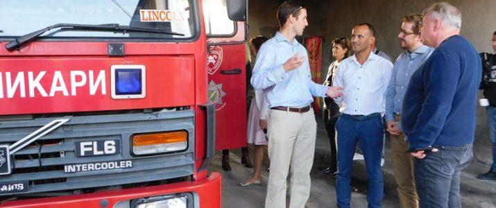 Европска делегација во посета на Свети Николе