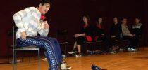 """Театарската  претстава  """"Одбележани""""  одиграна во Свети Николе"""