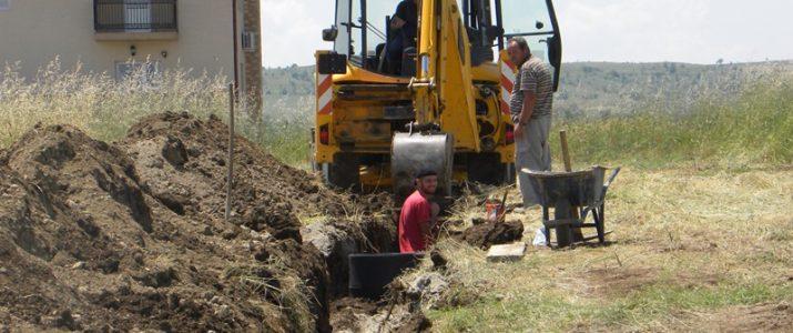 Изградба на водоводна и канализациона мрежа