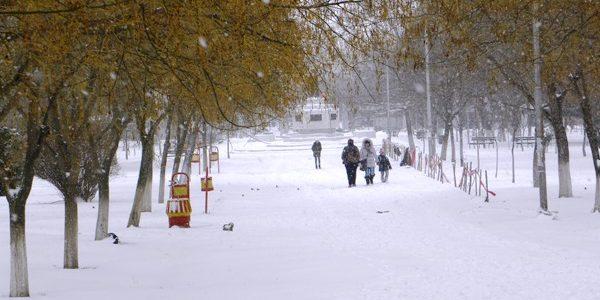Снежен бран во општина Свети Николе