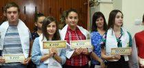 Доделување на награди на успешни ученици-Свечена седница по повод 14 Септември-Ден на ослободувањето на Свети Николе