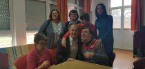 Посета на  Дневниот центар за лицата со посебни потреби по повод нивниот 9ти роденден