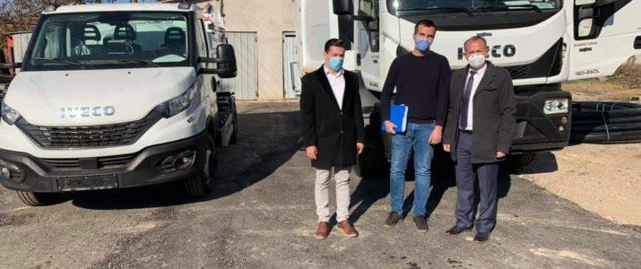 Примени двете возила наменети за собирање на комунален отпад