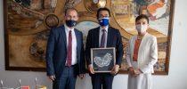 Посета на општина Свети Николе од страна на Н.Е. г-дин Хиронори Савада , амбасадор на Јапонија во Република Северна Македонија