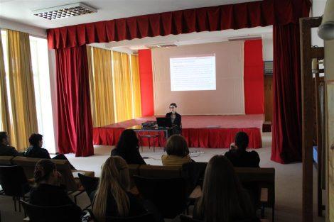 Презентација на проект за еднакви можности на жените и мажите