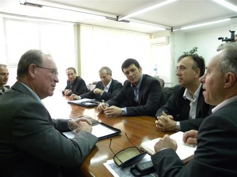 Австралиска делегација во посета на општина Свети Николе