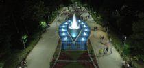 Пуштена во употреба целосно реконструираната фонтана во градскиот парк.