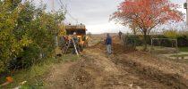 Изградба на водоводна и канализациона мрежа во населбата Сопотски пат