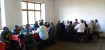Средба со жителите на Малино и Крушица