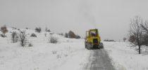 Општина Свети Николе  се справува со снежните врнежи