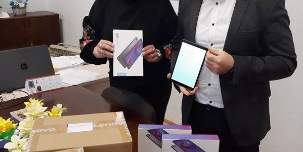 Донација на компјутерска опрема ( таблети ) во ОУ Гоце Делчев